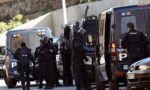 Spanish police are deployed in El Principe, Ceuta, hours after they arrested four alleged jihadists