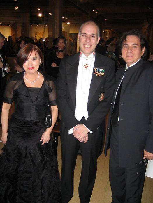 Printul Alfred cu Mariana Darida si Alexandru Darida